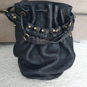 Alexander Wang black Bucket bag